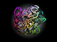 'Organic' network -64 nodes-