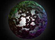 A fractal sphere