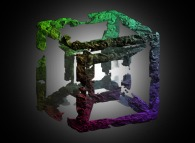 A fractal hypercube
