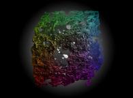 The eroded Menger sponge -iteration 3-