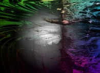 Tridimensional visualization of the Verhulst dynamics -'Time Ships', a tribute to Stephen Baxter-