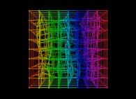 Random quadrangulation of a cube -8x8x8-