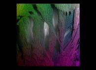 Close-up on a pseudo-octonionic Mandelbrot set (a 'Mandelbulb')-tridimensional cross-section-