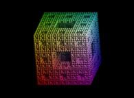 The extended Menger sponge -iteration 3-