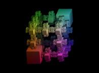 An extended Menger sponge -iteration 5-