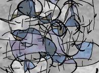 Apple Blossoms -a tribute to Piet Mondrian-
