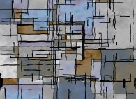 No Title 0372 -a tribute to Piet Mondrian-
