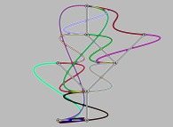 Artistic view of the Schaeffer bijection