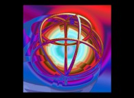 Artistic view of a sphere