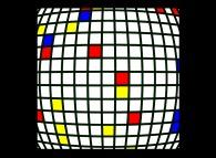 Victor Vasarely meets Piet Mondrian