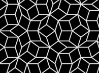 The construction process of a Penrose tiling -a zoom in on the Penrose tiling-