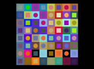 No Title 0294 -a tribute to Victor Vasarely