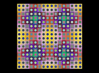 No Title 0295 -a tribute to Victor Vasarely