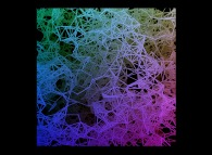 Heterogeneous -tridimensional fractal field- random meshing of a cube