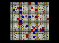 No Title 0268 -a recursive tribute to Piet Mondrian-