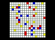 No Title 0267 -a tribute to Piet Mondrian-