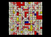 No Title 0270 -a recursive tribute to Piet Mondrian-