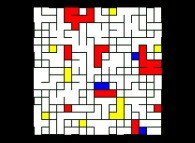No Title 0269 -a tribute to Piet Mondrian-