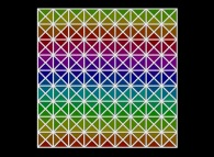 A tiling using isosceles right angled triangles