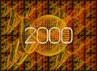 Happy new year 2000