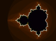 Along the border of the Mandelbrot set in the complex plane