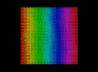 Random quadrangulation of a cube -18x18x18-