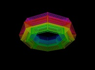 Regular quadrangulation of the volume of a torus -8x8x8-