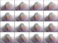 A set of 4x3 stereograms of a few Babel Towers