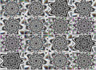 Self-transformation of a simple dynamical geometric texture