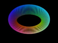 A torus defined by means of three bidimensional fields