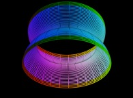 A surface between a cylinder and a torus