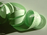 A punched paper tape