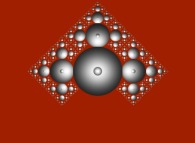 A tridimensional fractal structure -a Tribute to Thierry Mauger-